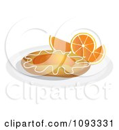 Clipart Orange Danish 2 Royalty Free Vector Illustration by Randomway