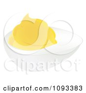 Clipart Deviled Egg Royalty Free Vector Illustration by Randomway