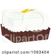 Clipart Carrot Petite Four Royalty Free Vector Illustration