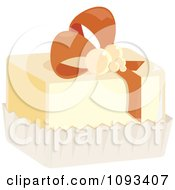 Clipart Petite Four Royalty Free Vector Illustration