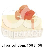 Clipart Floral Petite Four 1 Royalty Free Vector Illustration