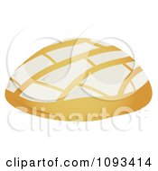 Clipart White Pandulce 1 Royalty Free Vector Illustration
