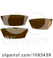 Clipart Peanut Butter Cups Royalty Free Vector Illustration