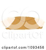 Clipart Plain Cannoli Royalty Free Vector Illustration