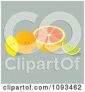 Citrus Fruit Characters