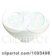 Clipart Bowl Of Sugar Cubes Royalty Free Vector Illustration