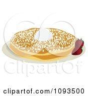 Pancakes And Powdered Sugar