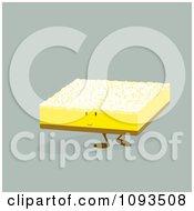 Clipart Lemon Bar Character Royalty Free Vector Illustration by Randomway