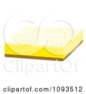 Clipart Lemon Bar 1 Royalty Free Vector Illustration