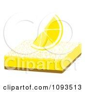 Clipart Lemon Bar 2 Royalty Free Vector Illustration by Randomway
