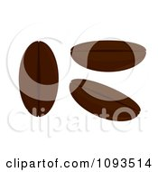 Clipart Coffee Beans Royalty Free Vector Illustration