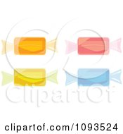 Clipart Colorful Hard Candies Royalty Free Vector Illustration