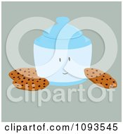Clipart Cookie Jar Character 1 Royalty Free Vector Illustration by Randomway