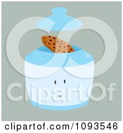 Clipart Cookie Jar Character 2 Royalty Free Vector Illustration by Randomway
