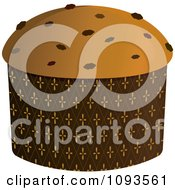 Clipart Panettone Royalty Free Vector Illustration