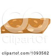 Clipart Peanut Brittle Royalty Free Vector Illustration