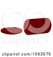 Clipart Canned Cranberry Sauce Royalty Free Vector Illustration