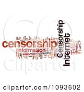 Internet Censorship Word Collage 4