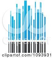 Blue White And Gray Urban Skyscraper Logo 4