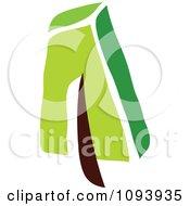 Clipart Green Tree Logo 10 Royalty Free Vector Illustration