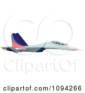 Clipart Air Force Jet Royalty Free Vector Illustration