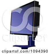 Clipart Computer Monitor 1 Royalty Free Vector Illustration
