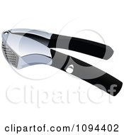 Clipart Garlic Press Royalty Free Vector Illustration by leonid