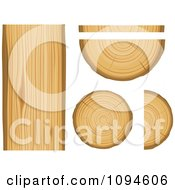 Clipart Wood And Lumber Royalty Free Vector Illustration by Vector Tradition SM