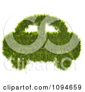 Clipart 3d Car Made Of Grass Royalty Free CGI Illustration by Mopic