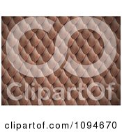 Clipart 3d Scales Background Pattern 1 Royalty Free CGI Illustration