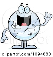 Clipart Pluto With An Idea Royalty Free Vector Illustration