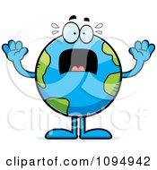 Stressed Earth Globe