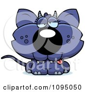 Clipart Drunk Chupacabra Royalty Free Vector Illustration by Cory Thoman