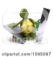 3d Tortoise Holding Trowels