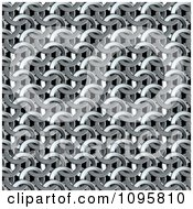 Clipart Chainmail Texture Background Royalty Free CGI Illustration by Mopic
