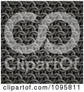 Clipart Dark Chainmail Texture Background Royalty Free CGI Illustration by Mopic