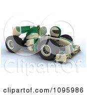 Clipart 3d Tortoise Waving From A Formula 1 Race Car Royalty Free CGI Illustration by KJ Pargeter