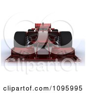 3d Dark Red Formula One Race Car 1