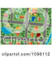 Residential Gps Street Map 1