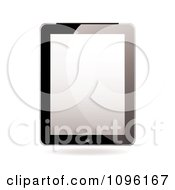 Clipart Blank Screen On A 3d Tablet Computer Royalty Free Vector Illustration by michaeltravers