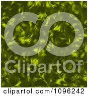 Clipart Textured Green Animal Fur Background Royalty Free Illustration