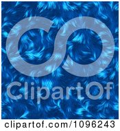 Clipart Textured Blue Animal Fur Background Royalty Free Illustration