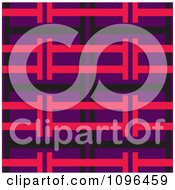 Clipart Seamless Pink Purple And Black Background Pattern Royalty Free Vector Illustration
