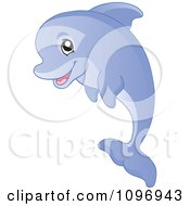 Clipart Happy Orange Starfish Royalty Free Vector Illustration