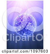 Clipart 3d Sperm Cells Attacking An Egg Over Rays Royalty Free CGI Illustration