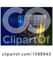 Clipart 3d Stacked Boxes With Some Glowing Royalty Free CGI Illustration by Mopic