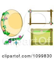 Tropical Frames And A Design Element