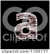 Clipart 3d Lowercase Letter A Made Of Stone Wall Texture Royalty Free CGI Illustration by chrisroll