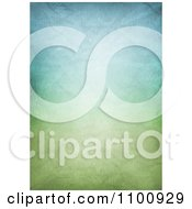 Clipart Pastel Green And Blue Grungy Crumpled Canvas Background Royalty Free CGI Illustration