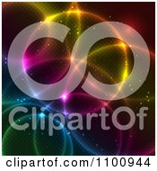 Clipart Colorful Circle Lights With A Pattern Royalty Free Vector Illustration by KJ Pargeter